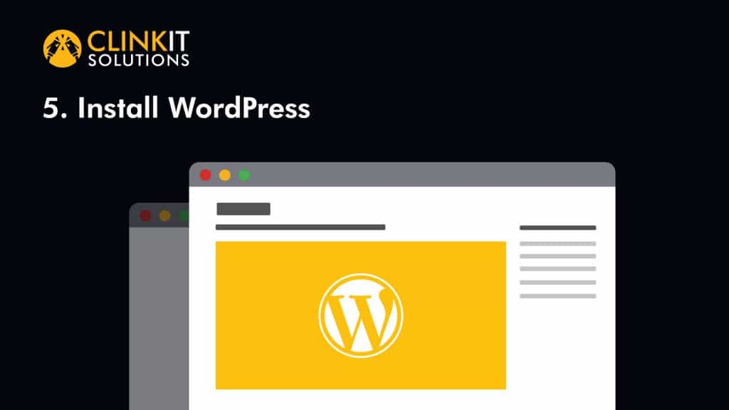 8Steps 5InstallWordPress