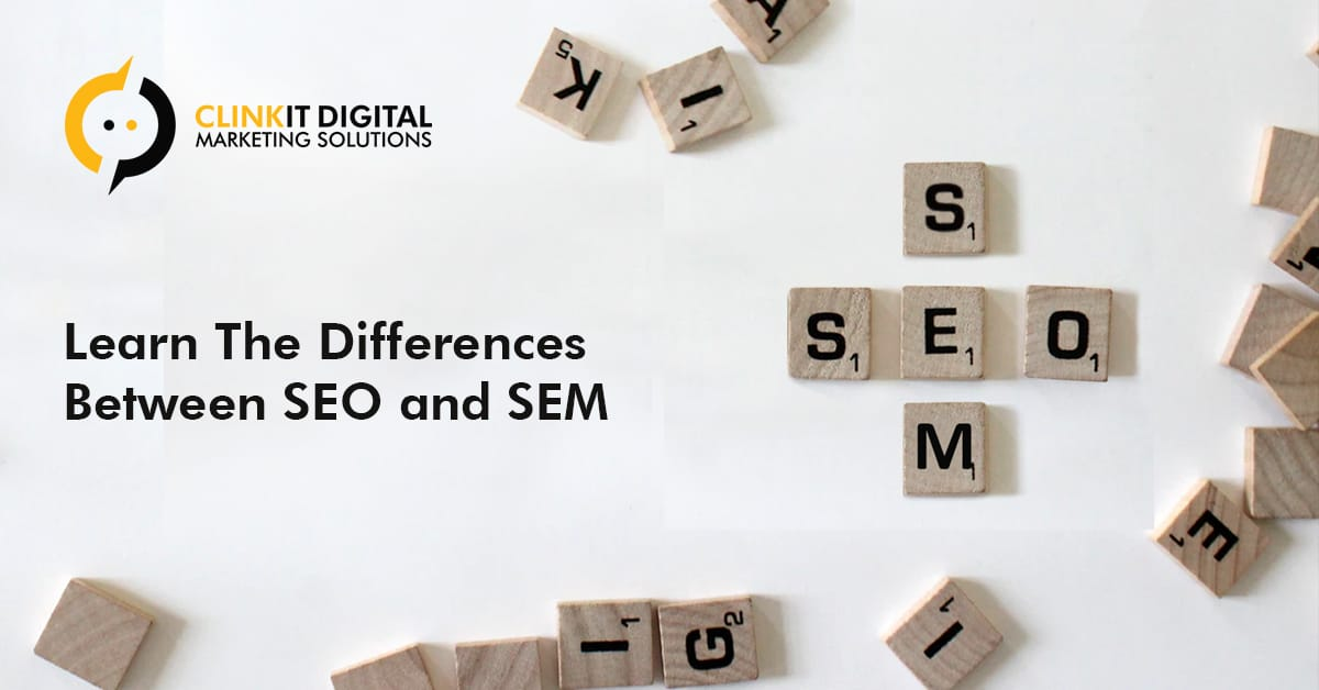 Differences Between SEO and SEM